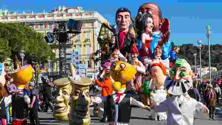 Carnaval de Nice, na França - AnnaBreit/Getty Images - AnnaBreit/Getty Images