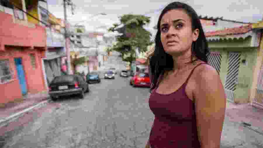 Leiliane Rafael da Silva, 28, testemunhou o acidente que matou o jornalista Ricardo Boechat e ajudou a salvar motorista de caminhão - André Lucas/UOL