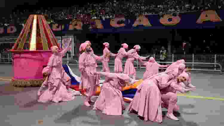 Desfile da Rosas de Ouro - Simon Plestenjak/UOL - Simon Plestenjak/UOL