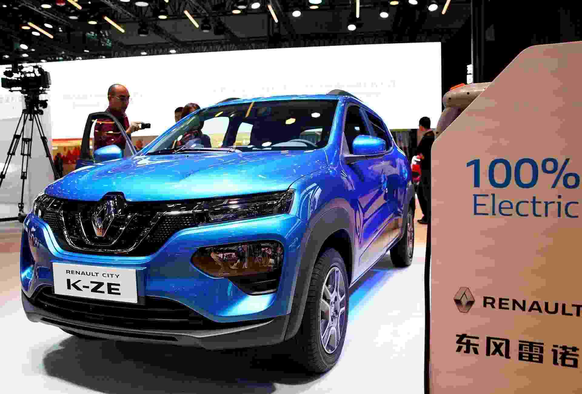 Renault City K-ZE Kwid elétrico - Aly Song/Reuters