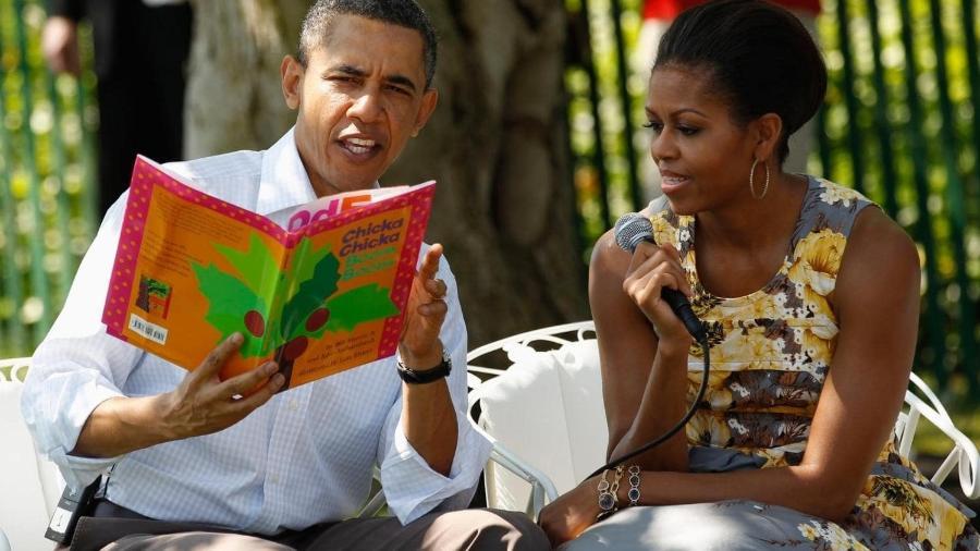 De Barack Obama a Elon Musk, muitas das pessoas mais poderosas do mundo dizem gostar de ler. Uma hora por dia pode ser o segredo do sucesso?  - Getty Images