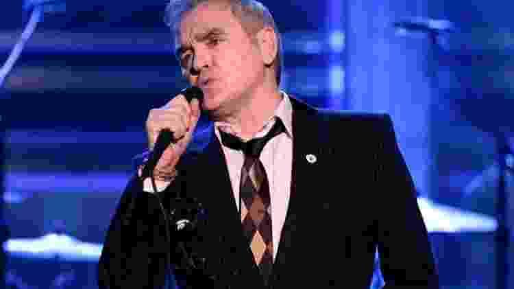 O cantor Morrissey  - Reprodução - Reprodução