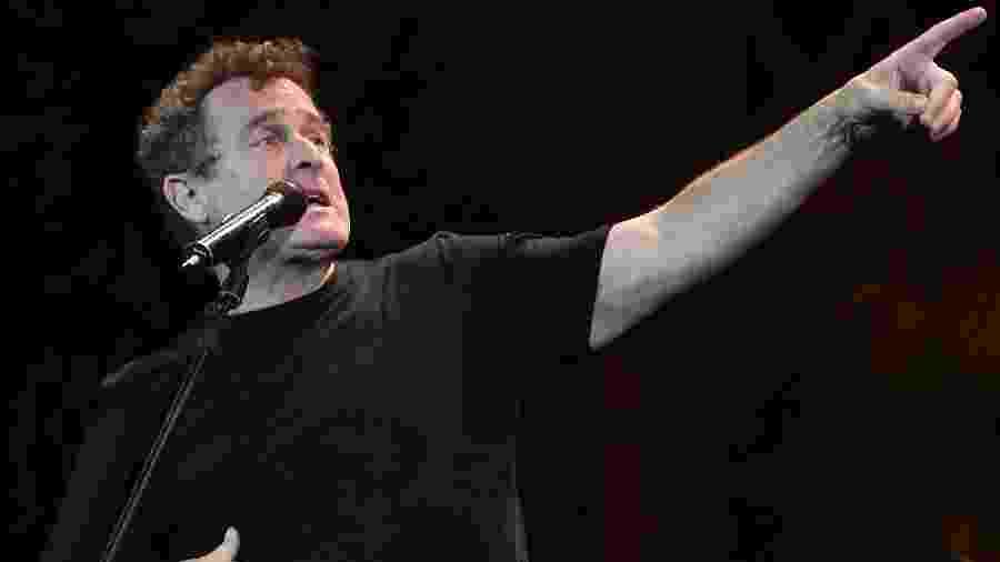 O cantor sul-africano Johnny Clegg - Fadel Senna/AFP