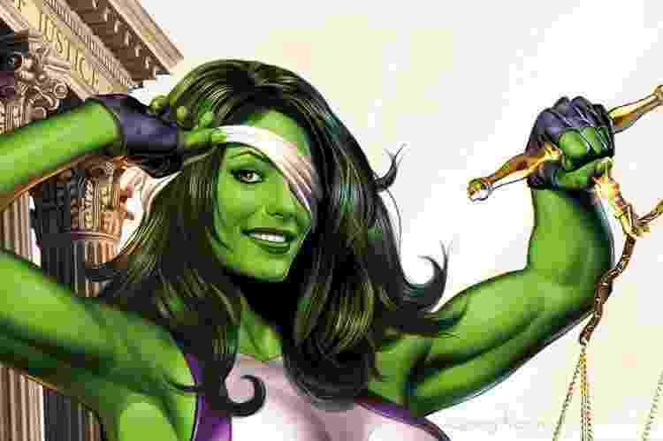 Mulher-Hulk será protagonista de série da Marvel - Reprodução - Reprodução