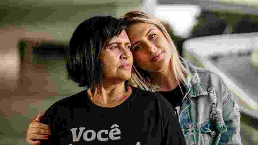 """Bruna espalhou fotos no quarto da mãe, Geni, para que ela """"se enxergue de novo"""" - Arquivo Pessoal/Marcia Kohatsu"""