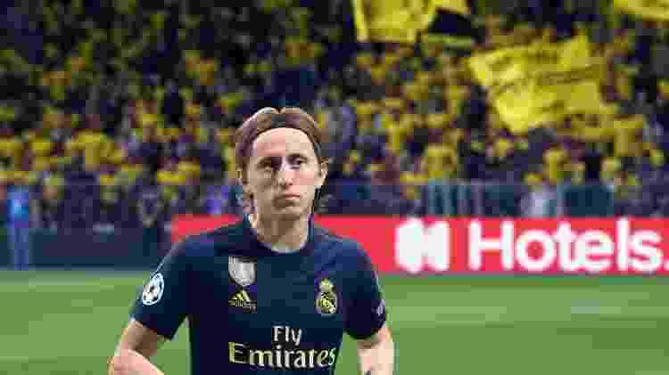 Luka Modric - Real Madrid - Reprodução