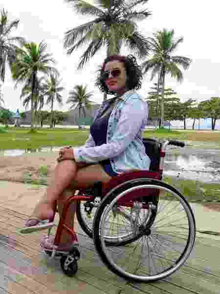 Suelen Almeida, do Viaje Com Acessibilidade - Arquivo pessoal