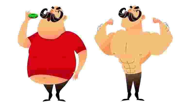 Peso homem x mulher - Getty Images via BBC - Getty Images via BBC