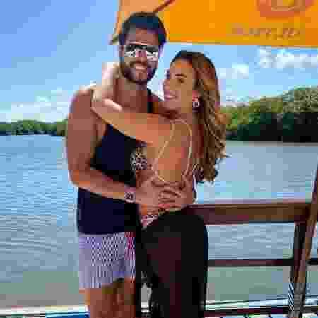 Nicole Bahls e o marido Marcelo Bimbi - REPRODUÇÃO/INSTAGRAM