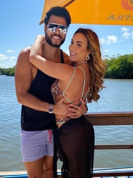 Nicole Bahls e o marido, Marcelo Bimbi - REPRODUÇÃO/INSTAGRAM