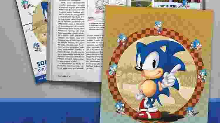 Não poderia faltar o ouriço azul da Sega nas páginas da Jogo Véio - Divulgação