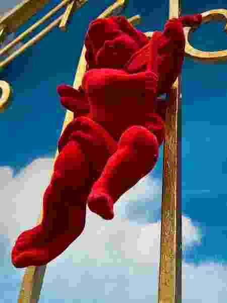 Anjo vermelho no BBB 20 - REPRODUÇÃO/INSTAGRAM