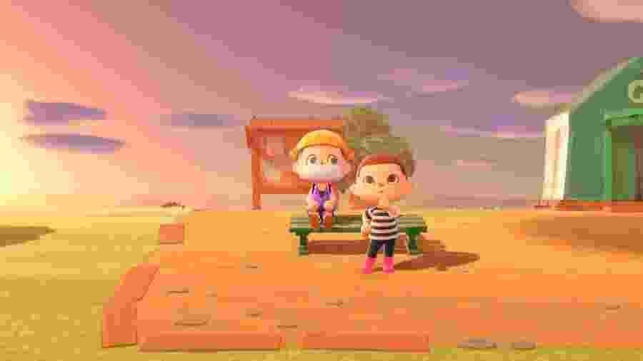 Coloque sua máscara de proteção e comece a visitar os amigos em Animal Crossing - Reprodução