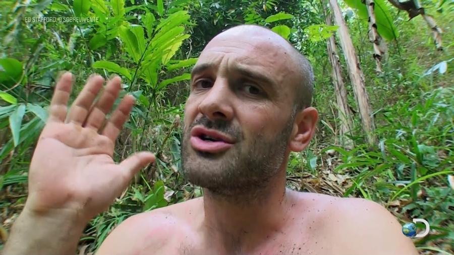 O britânico Ed Stafford, uma das estrelas sobrevivencialistas do Discovery Channel - Reprodução/YouTube/Discovery