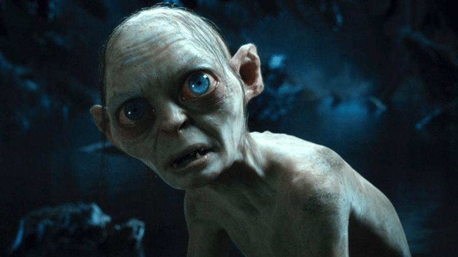 """O personagem Gollum, em """"O Hobbit"""" - Reprodução"""