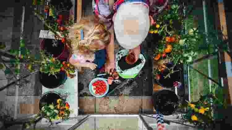 jardinagem com crianças - Getty Images - Getty Images