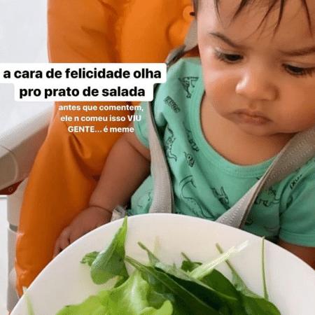 Marília Mendonça brinca com careta do filho Léo - Reprodução/Instagram/@mariliamendoncacantora