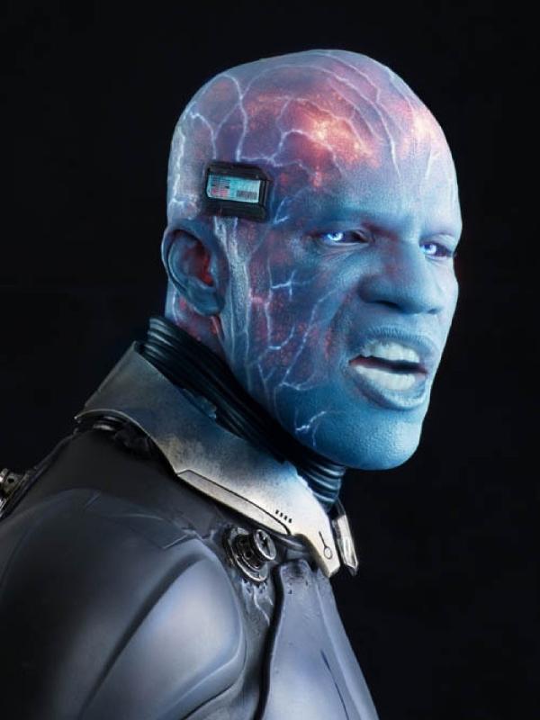Jamie Foxx como Electro em 'O Espetacular Homem-Aranha 2'