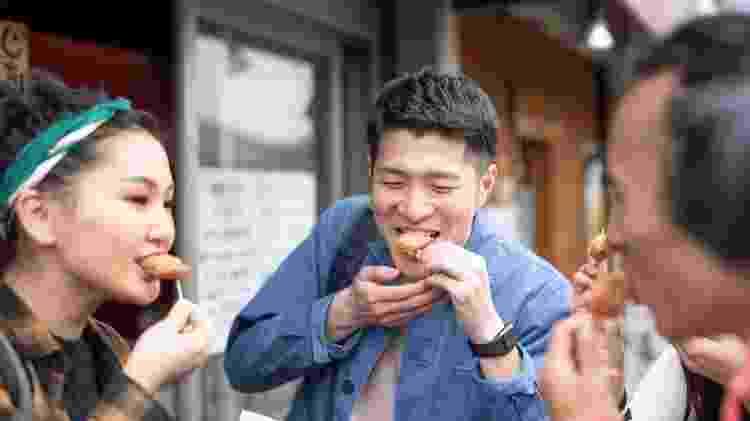 No Japão, frango frito é amplamente consumido - Getty Images - Getty Images