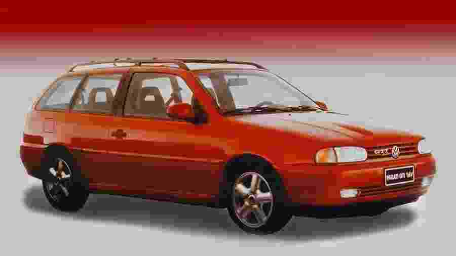 Parati GTI 16V foi lançada em 1997, trazendo o mesmo motor 2.0 do Gol GTI; era um dos carros nacionais mais rápidos e caros - Divulgação