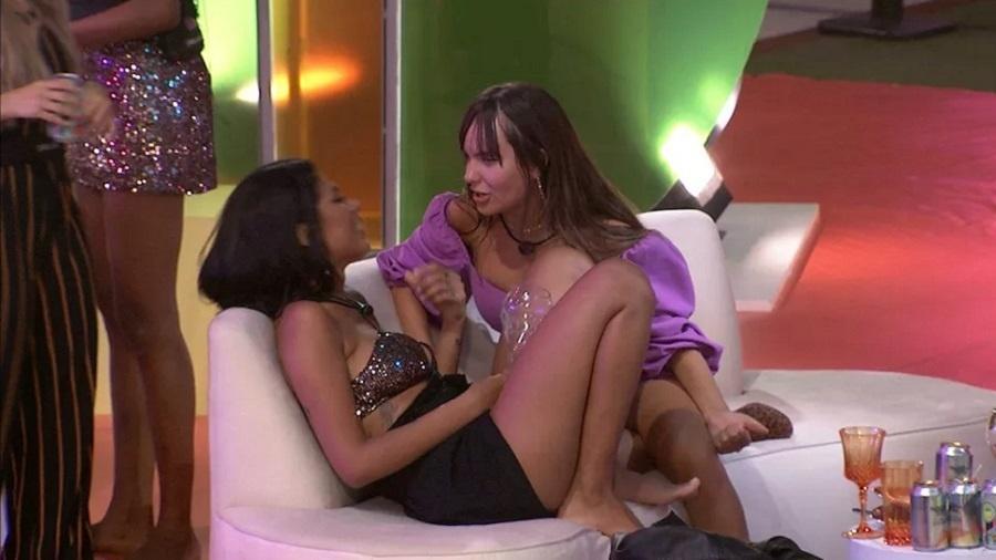 BBB 21: Pocah e Thaís conversam sobre amizade no jogo - Reprodução/Globoplay