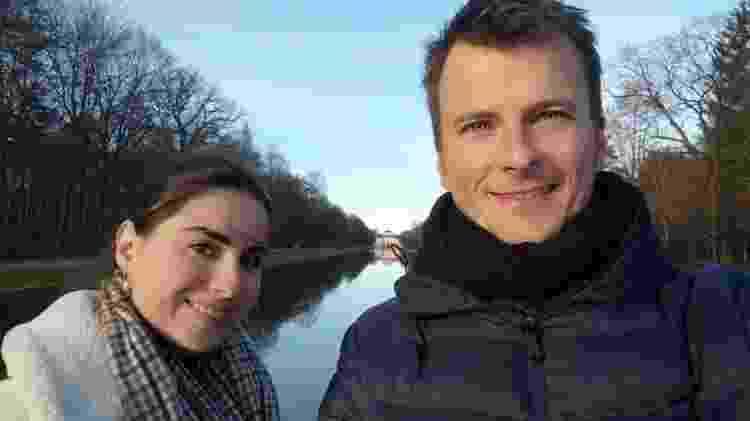 Mariana Gabellini e o namorado Adrian Kreuser - Arquivo pessoal - Arquivo pessoal