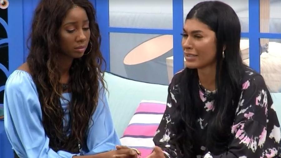 BBB21: Camilla conta para Pocah que votou nela - Reprodução/Globoplay