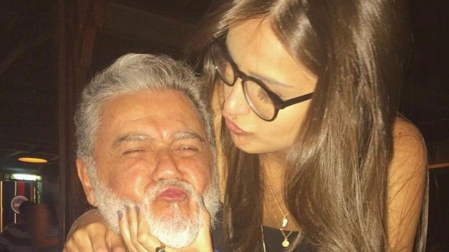 Mari Palma e o pai, Luiz - Reprodução/Instagram @maripalma
