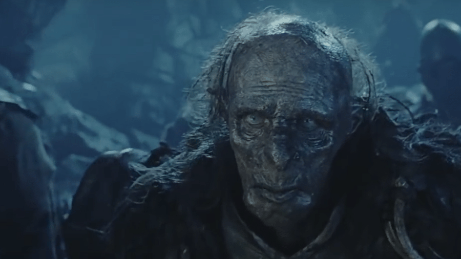 """Stephen Ure como Grishnakh em """"O Senhor dos Anéis"""" - Reprodução"""