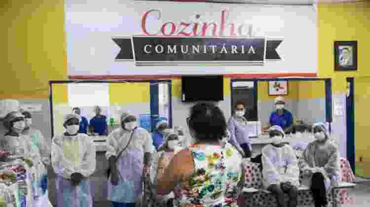 Cozinha comunitária de Manaus - João Viana/Divulgação - João Viana/Divulgação