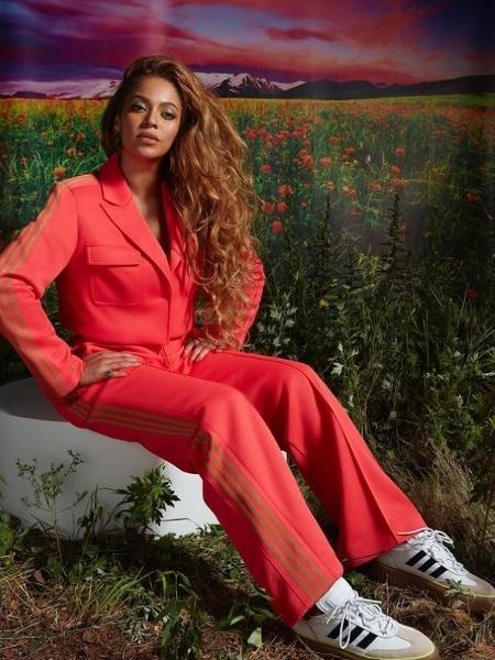 """A cantora Beyoncé usa um """"terninho"""" esportivo; ela é adepta do estilo ath-flow - Reprodução/Instagram"""
