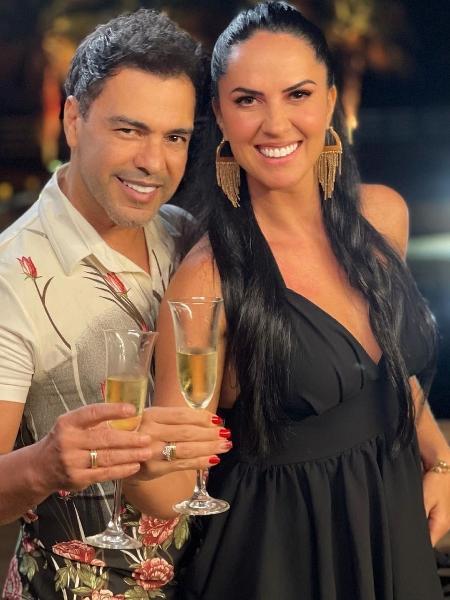 Zezé di Camargo e Graciele Lacerda - Reprodução Instagram