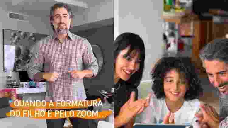 Marcon Mion mostra look para formatura à distância do filho caçula, Stefano - Reprodução/Instagram - Reprodução/Instagram