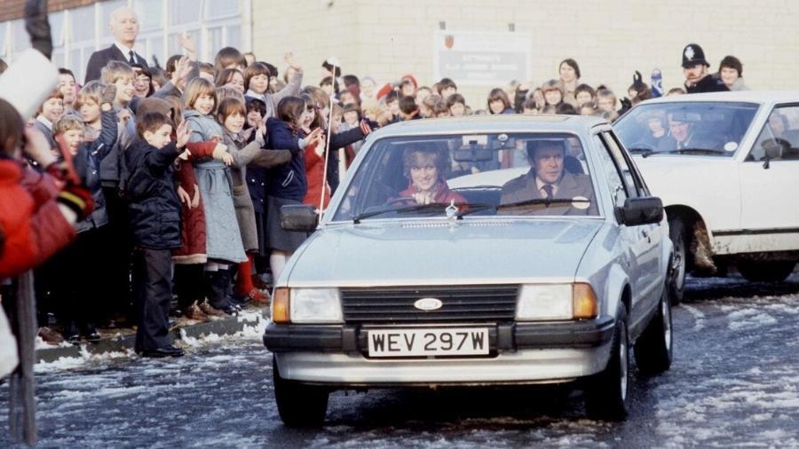 Ford Escort 1981 da princesa Diana - Divulgação