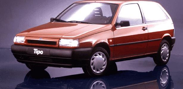 Fiat Tipo 1993 - Divulgação - Divulgação