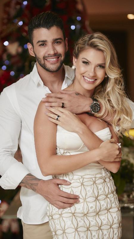 Andressa e Gusttavo se casaram em dezembro de 2015 - João Augusto/Michelle Barzotto/Divulgação