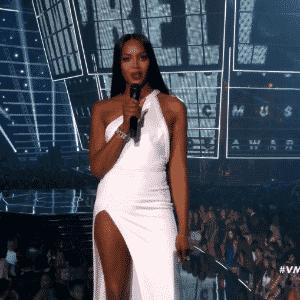 28.ago.2016 - O VMA 2016 aconteceu no Madison Square Garden, em Nova York, reunindo grandes nomes da música como Rihanna, Britney Spears, Nicki Minaj, Kanye West, entre outros - Reprodução/MTV