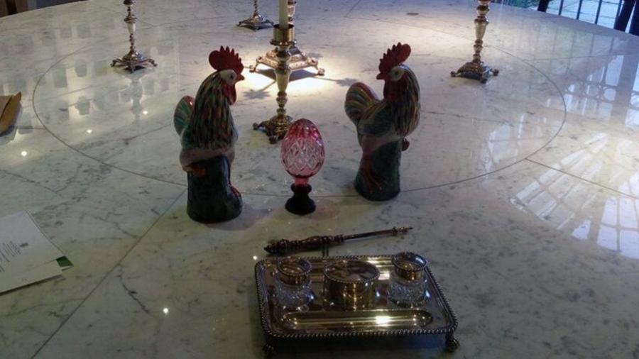 Polícia Federal faz operação em busca de obras de arte furtadas do Museu Imperial - Divulgação/Polícia Federal