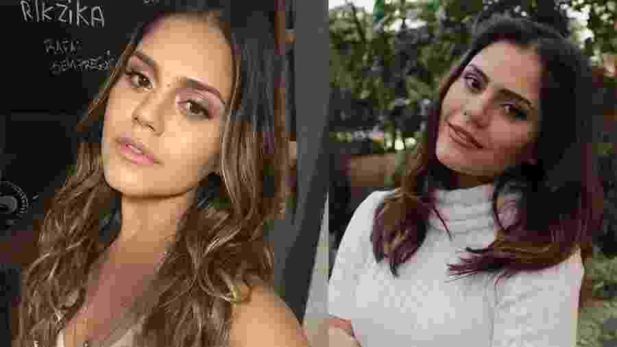 A atriz Jessika Alves antes e depois da mudança no visual - Divulgação