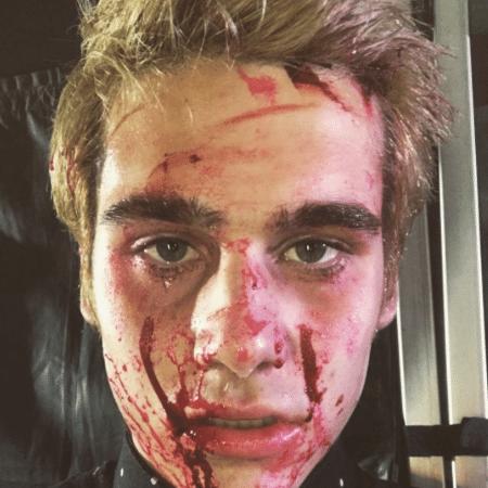 """Nicolas Prattes filma """"O Segredo de Davi"""" - Reprodução/Instagram/nicolasprattes"""