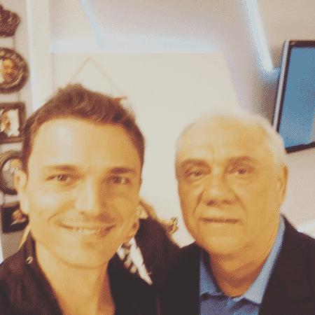 Diego Esteves homenageia o pai, Marcelo Rezende - Reprodução/Instagram/estevesfdiego