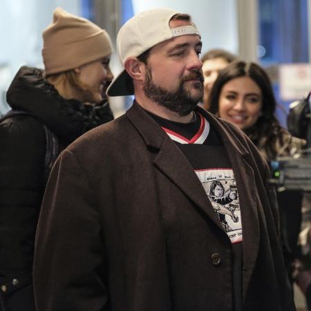 """Kevin Smith no set da série """"Supergirl"""" - Reprodução/Imdb"""