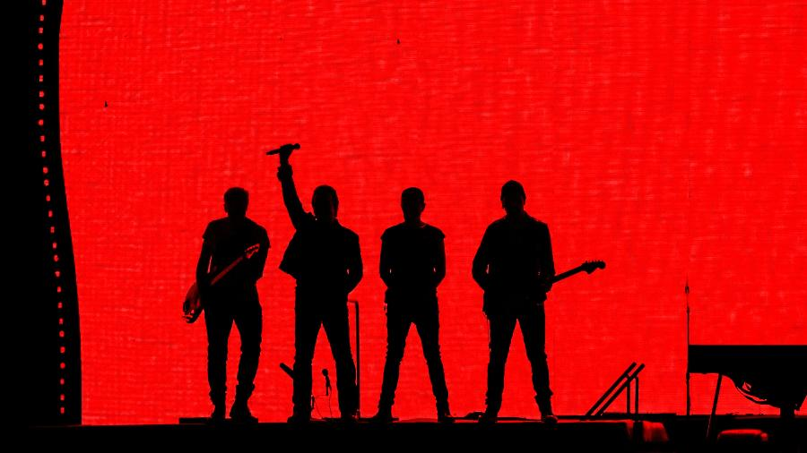 U2 abre turnê brasileira com show no estádio do Morumbi, em São Paulo - Lucas Lima/UOL