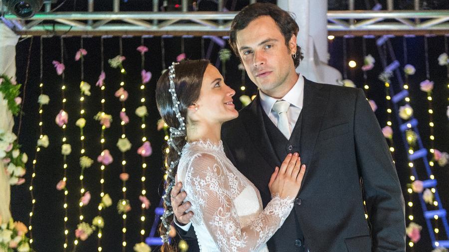 """O casamento de Clara e Gael em """"O Outro Lado do Paraíso"""" - Divulgação/Rede Globo"""
