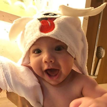 Gabriel, filho de Andressa Suita e Gusttavo Lima - Reprodução/Instagram