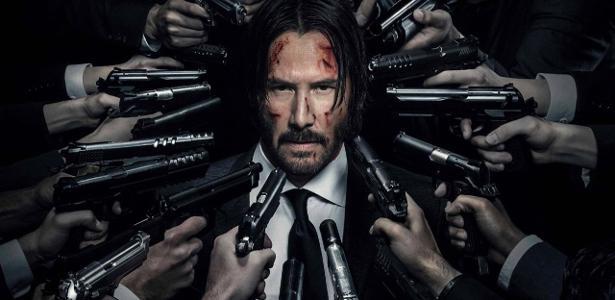 "Keanu Reeves em ""John Wick"""