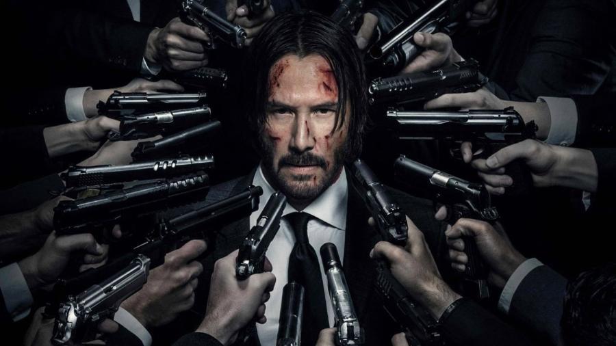 """Keanu Reeves em """"John Wick"""" - Reprodução"""