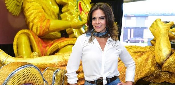 """""""Rainha dos Caminhoneiros"""", Sula Miranda defende greve: """"Eles querem paz"""" - Léo Franco/AgNews"""