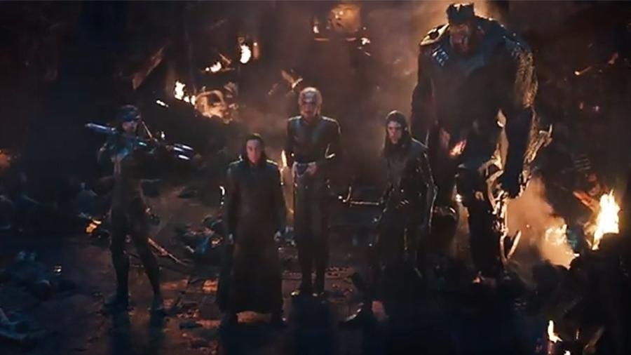 """A Ordem Negra dos Filhos de Thanos no trailer de """"Vingadores: Guerra Infinita"""" - Reprodução"""