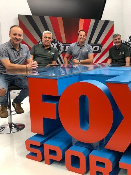 Parte do elenco do canal Fox Sports na Copa da Rússia - Divulgação